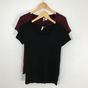 BUNDLE!! 2 Divided/H&M T-Shirts